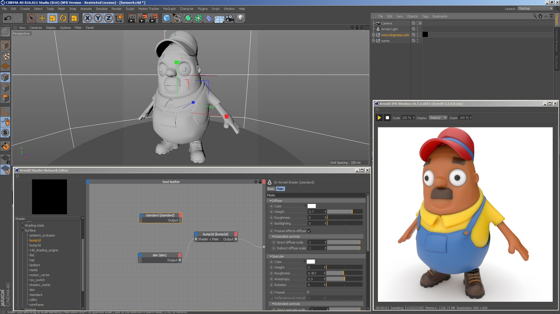 arnold for cinema 4d free download