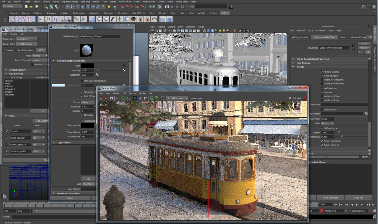 Arnold Renderer | Autodesk | Arnold for Maya Plug-in