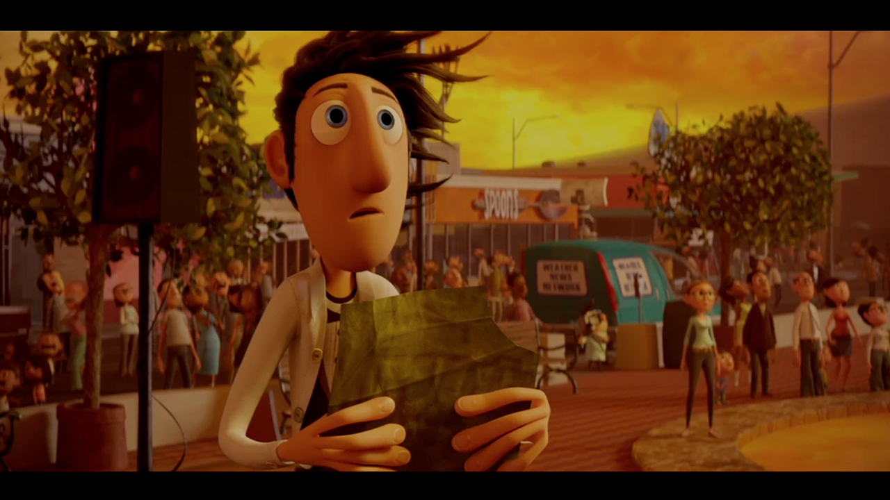Arnold Renderer   Autodesk   Cloudy with a Chance of Meatballs