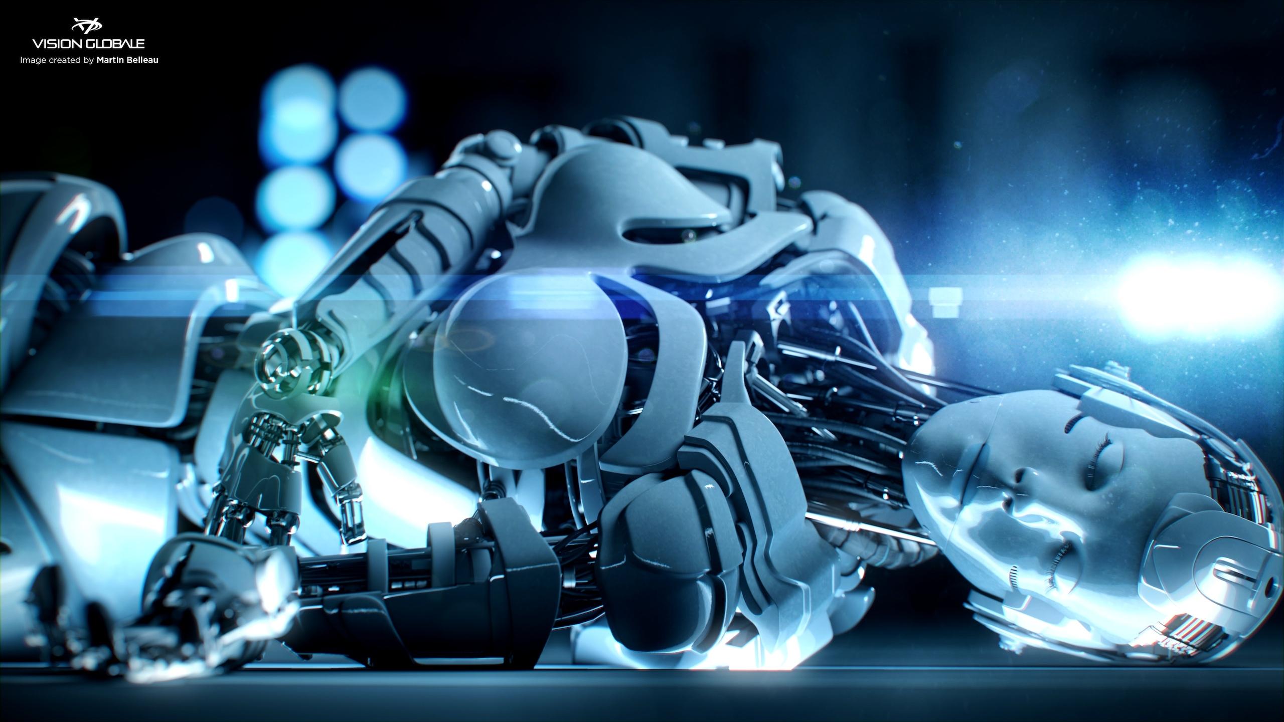 Обои На Рабочий Роботы